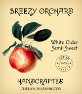 Cider Label - Handcrafted Cider