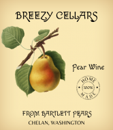 Expressions Wine Label - Handcrafted Pear