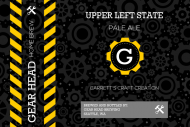 Growler Label - Gear Head