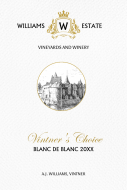 Large Wine Label - Vintners Choice
