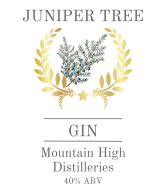Liquor Label - Juniper Gin