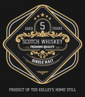 Liquor Label - Single Malt