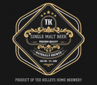 Beer Label - Single Malt