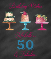 Birthday Wine Label - Birthday Cake Wishes