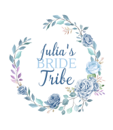 Wedding Wine Label - Floral Wedding Wreath