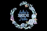 Wedding Mini Wine Label - Floral Wedding Wreath