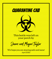 Wine Label - Quarantine Gift