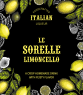 Liquor Label - Bello Limoncello