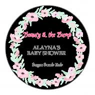 Baby Sticker - Pink Petals