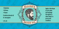 Dropper Bottle Label - Beard Oil Template