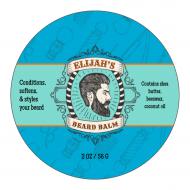 Sticker - Beard Balm Template