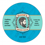 Sticker - Beard Balm Template