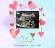Baby Beer Label - Baby Ultrasound