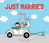 Wedding Beer Label - Just Married