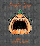 Holiday Wine Label - Angry Pumpkin