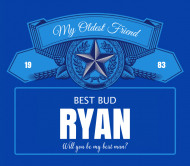 Wedding Beer Label - Best Bud