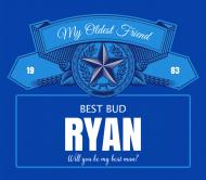 Wedding Beer Label - Best Bud