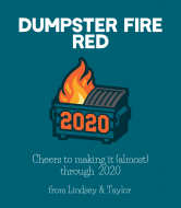 Expressions Wine Label - Dumpster Fire Blend