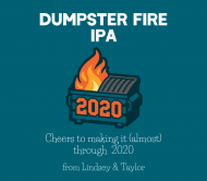 Expressions Beer Label - Dumpster Fire IPA