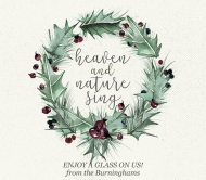 Holiday Beer Label - Winter Holly