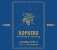 Expressions Beer Can Label - Hophead