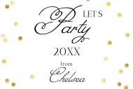 Celebration Mini Liquor Label - Party Hard