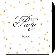 Celebration Drink Coaster - Party Hard