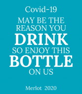 Expressions Wine Label - Covid-19 May Be The Reason