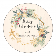 Holiday Sticker - Christmas Tidings