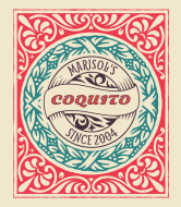 Liquor Label - Coquito Flourish