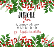 Holiday Beer Label - Jingle Juice