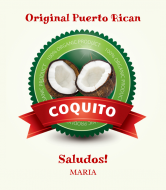 Liquor Label - Coquito