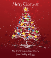 Holiday Wine Label - Christmas Magic