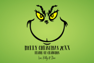 Holiday Growler Label - Grinch
