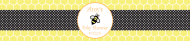 Baby Water Bottle Label - Honey Bee