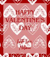 Holiday Wine Label - Folki Valentine