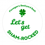 Holiday Cup Label - Let's Get Shamrocked