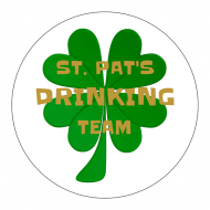 Holiday Sticker - St. Pat's Drinking Team