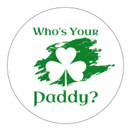 Holiday Sticker - Who's Your Paddy?