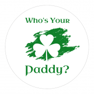 Holiday Cup Label - Who's Your Paddy?