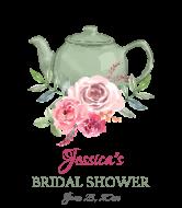 Wedding Wine Label - Bridal Shower Tea