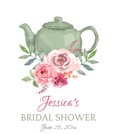 Wedding Champagne Label - Bridal Shower Tea