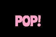 Baby Mini Wine Label - Ready To Pop Pink