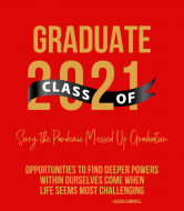 Graduations Wine Label - Grad Power