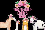 Birthday Gift Tag - Farm Animal Birthday