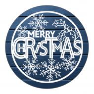 Holiday Label - Snowflake Christmas