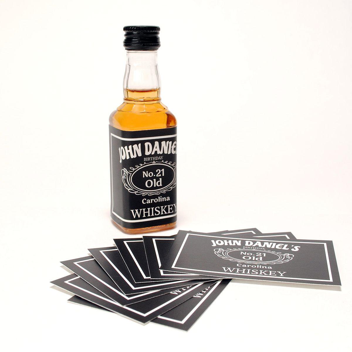 Labels For Mini Jack Daniels Bottles