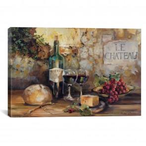 Le Chateau by Marilyn Hageman - 26''x18''