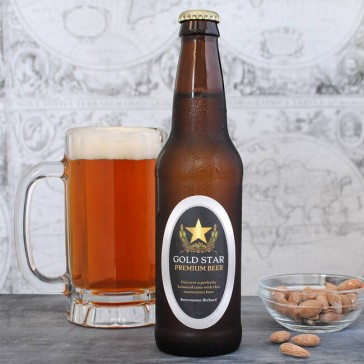 Oval Beer Labels