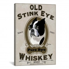 Old Stink Eye Whiskey by Brian Rubenacker - 12''x18''